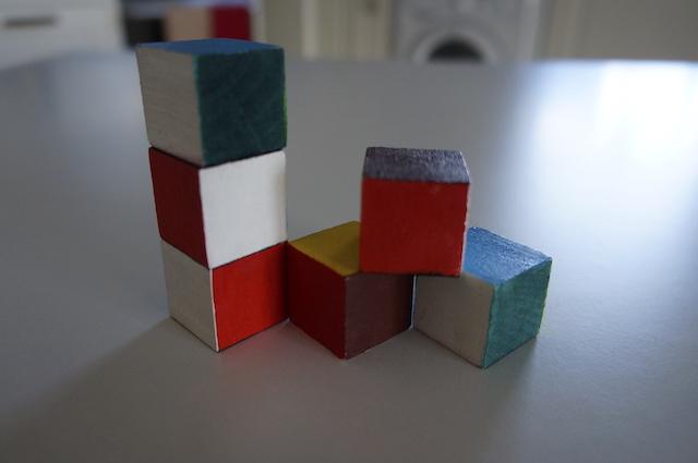 Kolorowe kostki 10