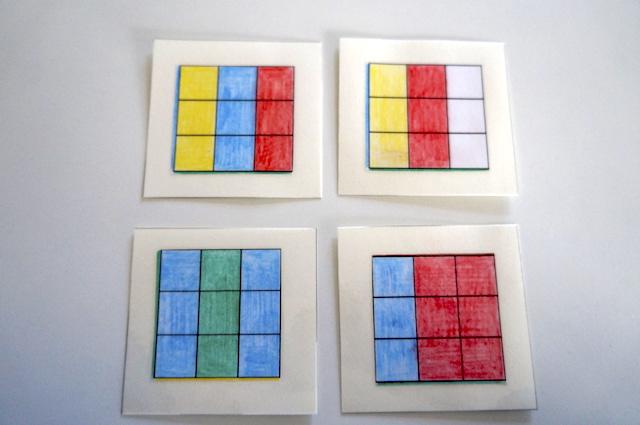 Kolorowe kostki 2