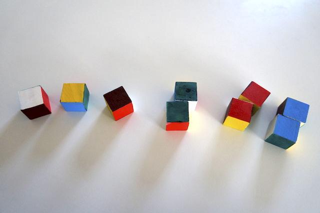 Kolorowe kostki 4