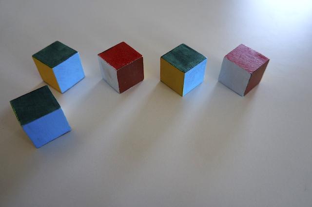 Kolorowe kostki 5