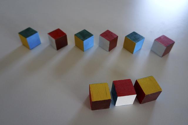 Kolorowe kostki 6
