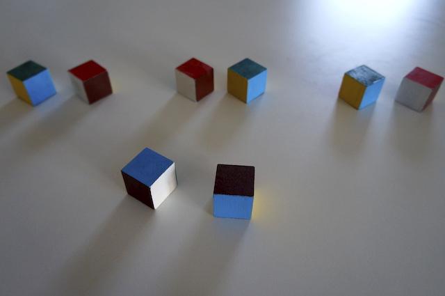 Kolorowe kostki 7