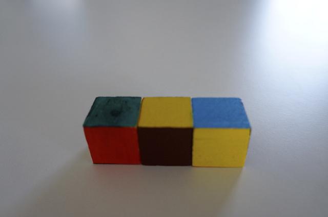 Kolorowe kostki 9