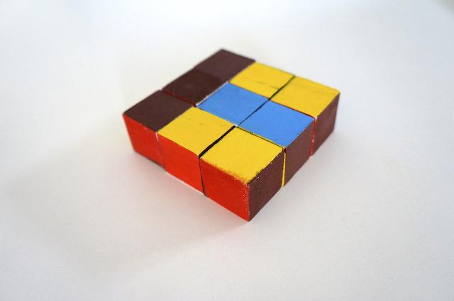 Kolorowe kostki 55