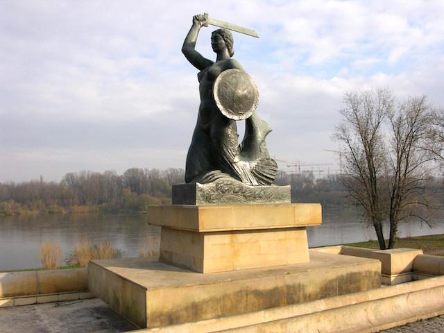 Warszawska Syrenka pomnik